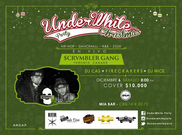UnderWhite Party – Christmas Edition