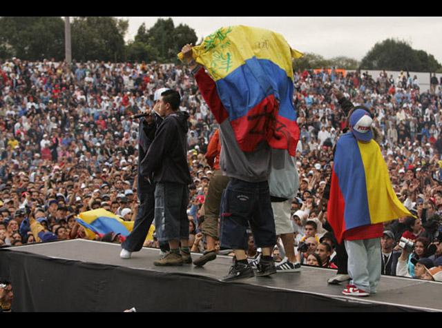 Colombia según sus raperos