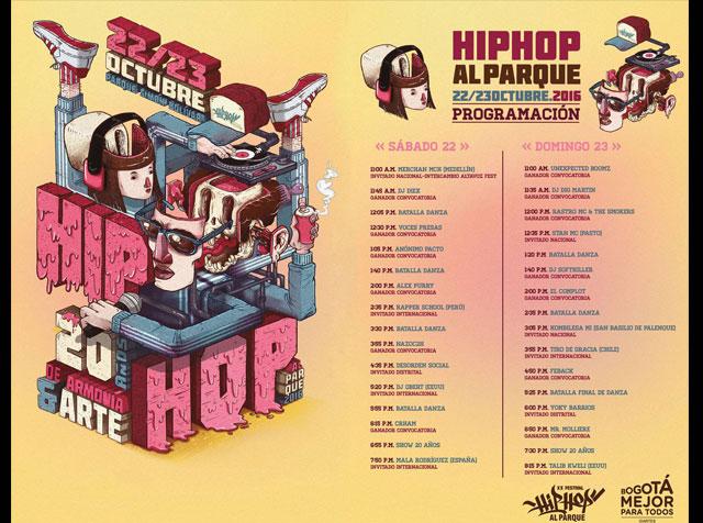 Conoce los artistas internacionales de Hip Hop al Parque 2016
