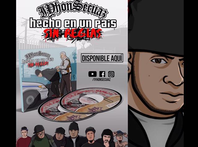 Hecho en un país sin reglas, el nuevo álbum de Iyhon Secuaz