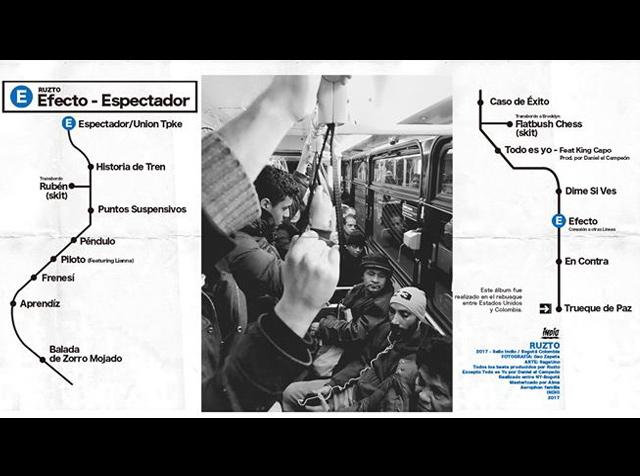 Efecto Espectador, el nuevo álbum de Ruzto