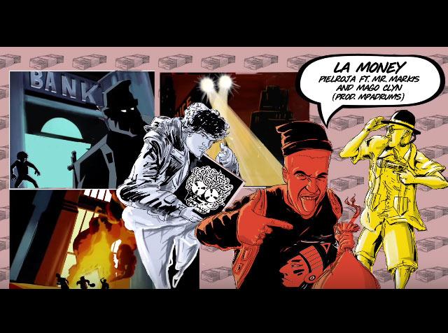 La Money | Pielroja Ft. Mr. Markis & Mago Clyn