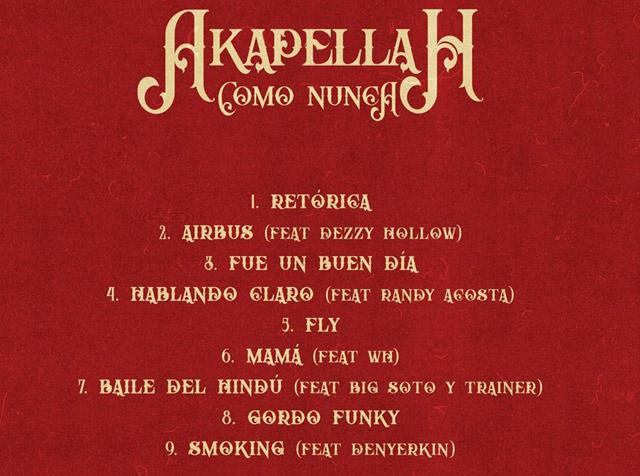 ¡Akapellah estrena disco!