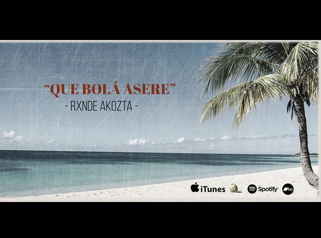 ¡Rxnde Akozta estrena álbum!