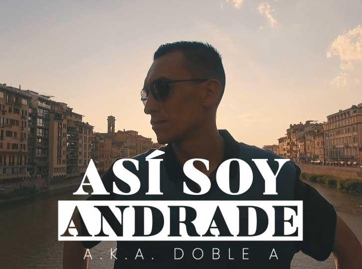 """ANDRADE presenta su nuevo sencillo """"Asi Soy"""""""