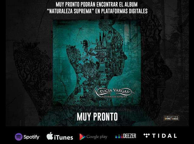 Naturaleza Suprema, nuevo álbum de Lucia Vargas
