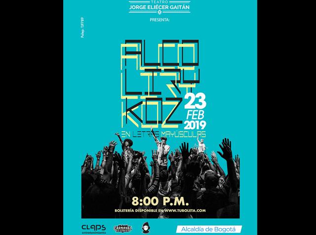 ¡AlcolirykoZ celebrará sus 20 años de carrera musical!