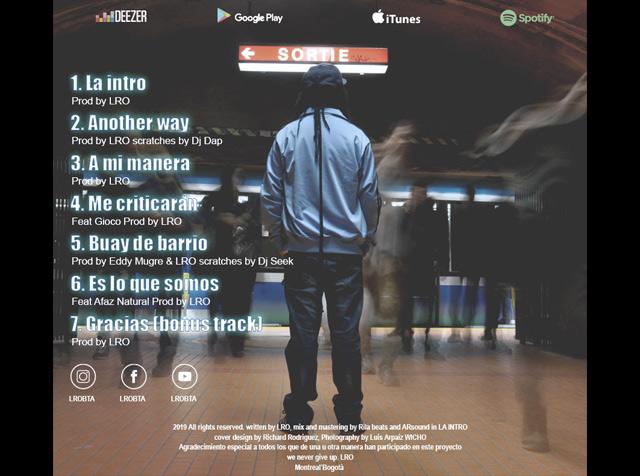 A mi manera, conoce a LRO y a su nuevo EP