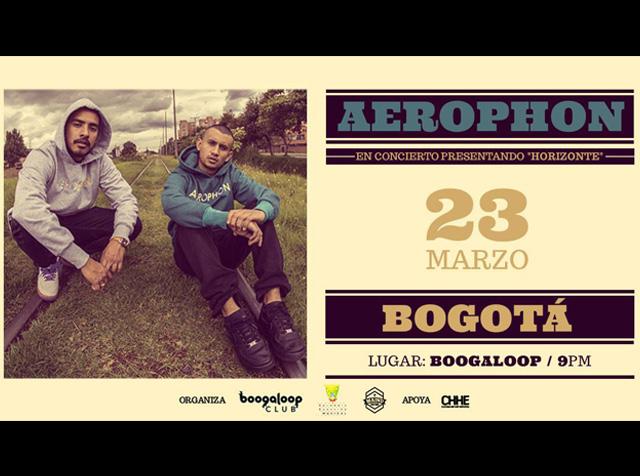 ¡No te pierdas el único concierto del año de Aerophon!