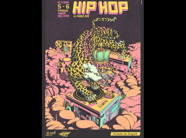 ¡Conoce el cartel oficial del Festival Hip Hop Al Parque 2019!