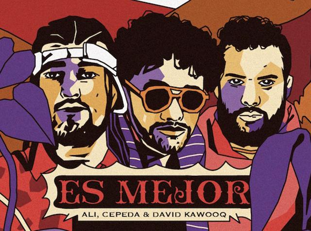 """""""Es mejor"""" Andrés Cepeda de la mano de Ali a.k.a mind y David Kawooq"""